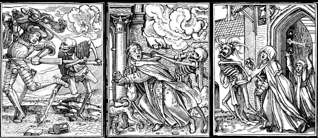 Пляска Смерти, Г. Гольбейн Младший | Блог Катерины Нистратовой о Рунах