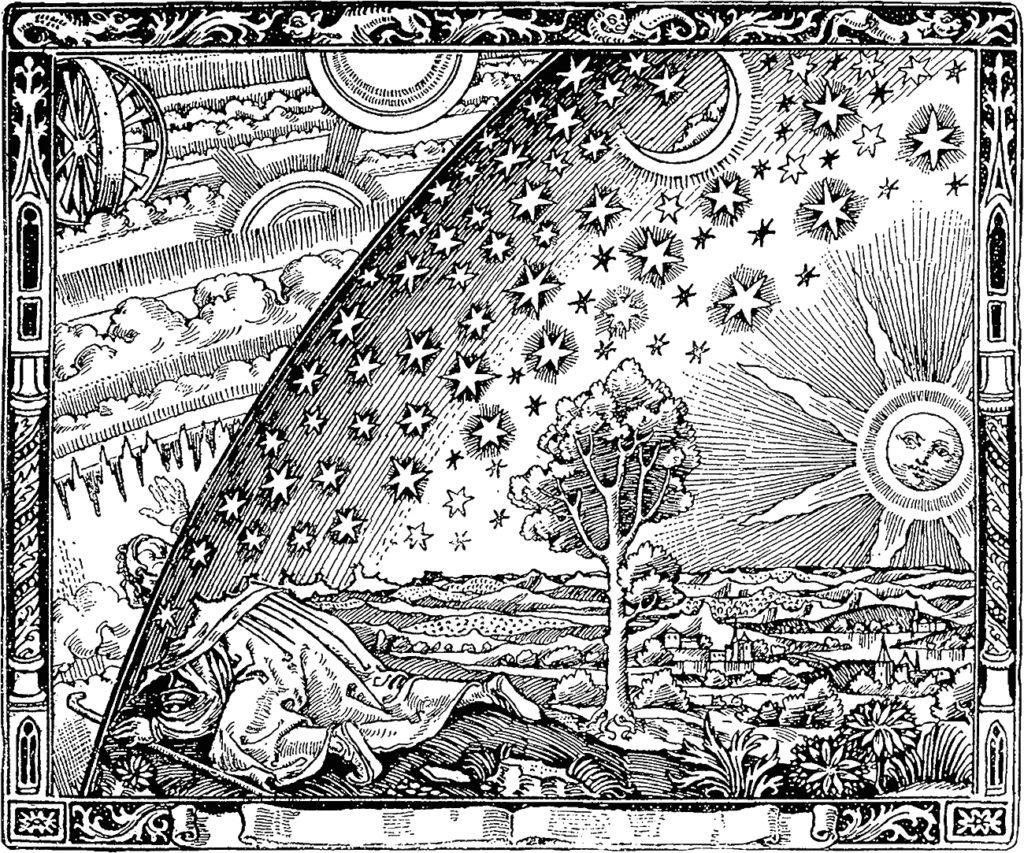 Ксилография из книги Фламмариона | Блог Катерины Нистратовой о Рунах
