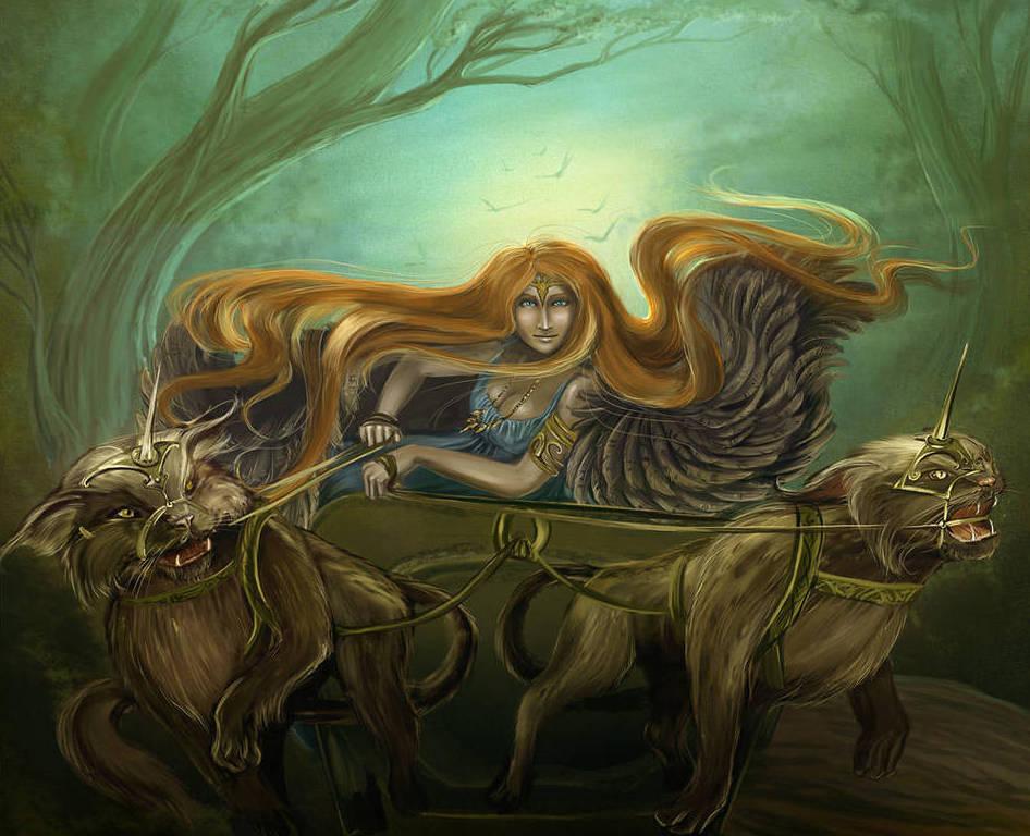 Восемь имен Фрейи: иллюстрация 7 | Блог Катерины Нистратовой о Рунах