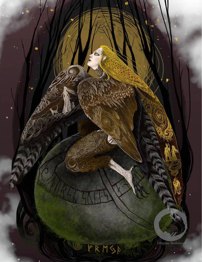 Восемь имен Фрейи: иллюстрация 10 | Блог Катерины Нистратовой о Рунах