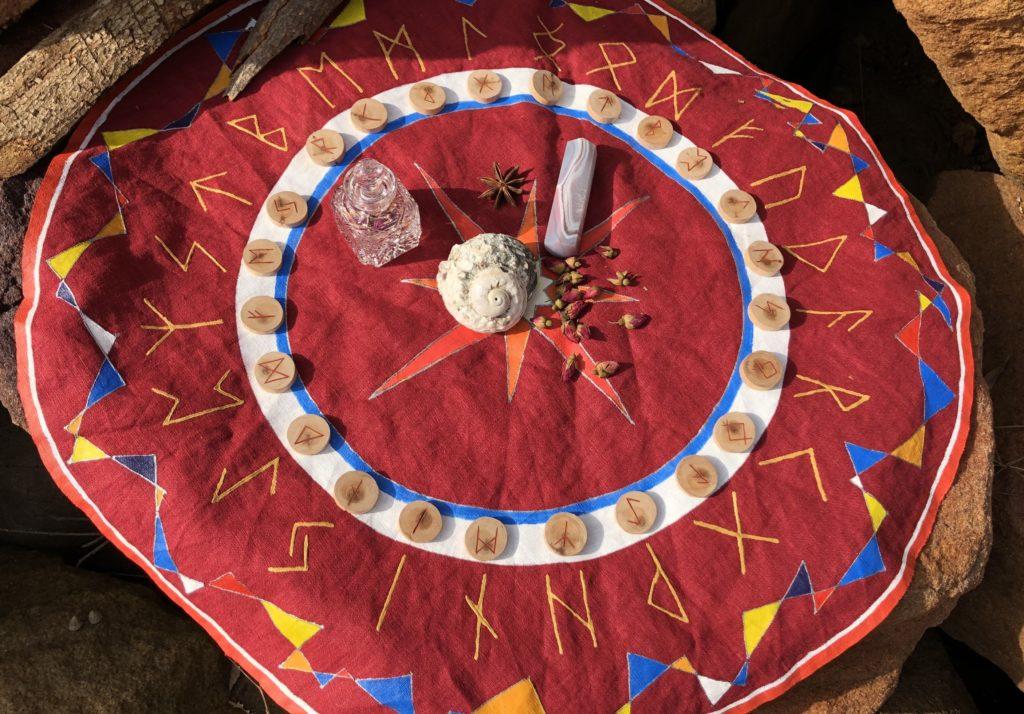 Расклад Рунный Круг сфера отношений илл 1 | Блог Катерины Нистратовой о Рунах